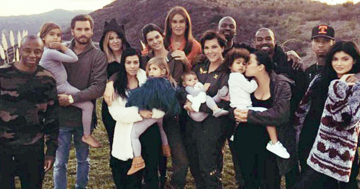First Picture Of Saint Revealed In Alternative Kardashian