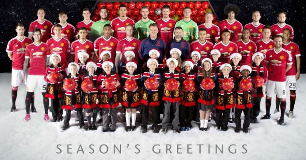Manchester United Stars Surprise Lucky Pupils By Taking