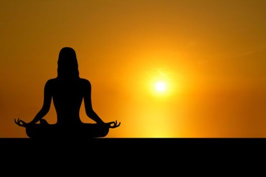 Resultado de imagem para someone meditating