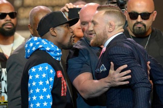 Image result for conor mcgregor floyd mayweather LA