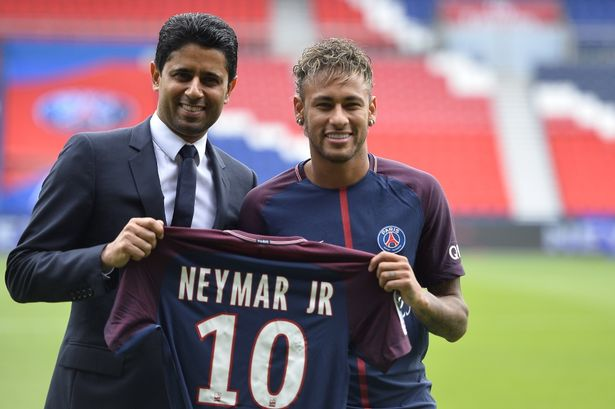 Image result for Neymar transfer could cost more than Allianz Arena – Bayern chief