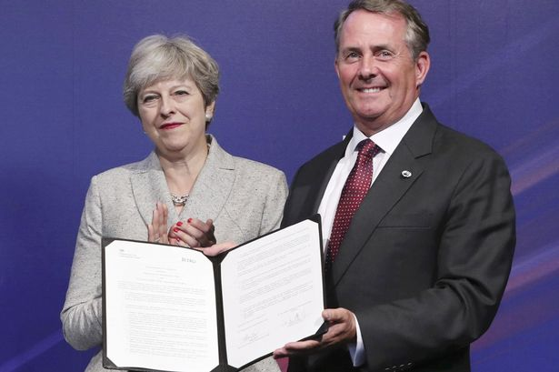 Image result for theresa may & liam fox & david davies