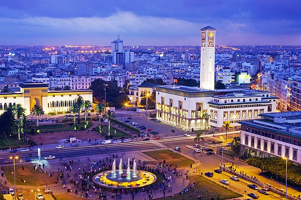 Place Mohammed V in Casablanca's centre