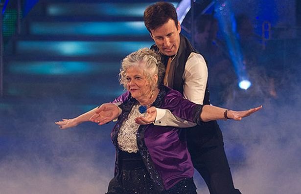 Image result for ann widdecombe strictly