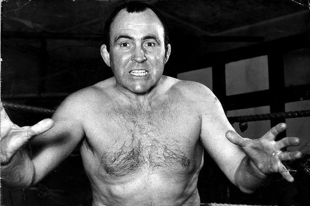 Mick Mcmanus wrestler 1963