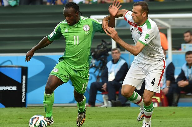 Image result for Chelsea wish Victor Moses best of luck with Nigeria