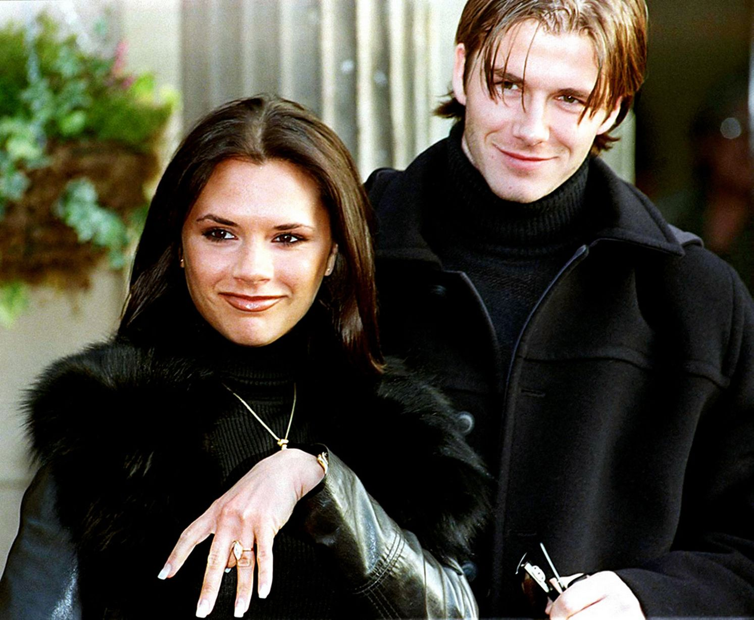 Image result for image of posh and becks young