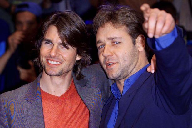 Image result for russell crowe tom cruise