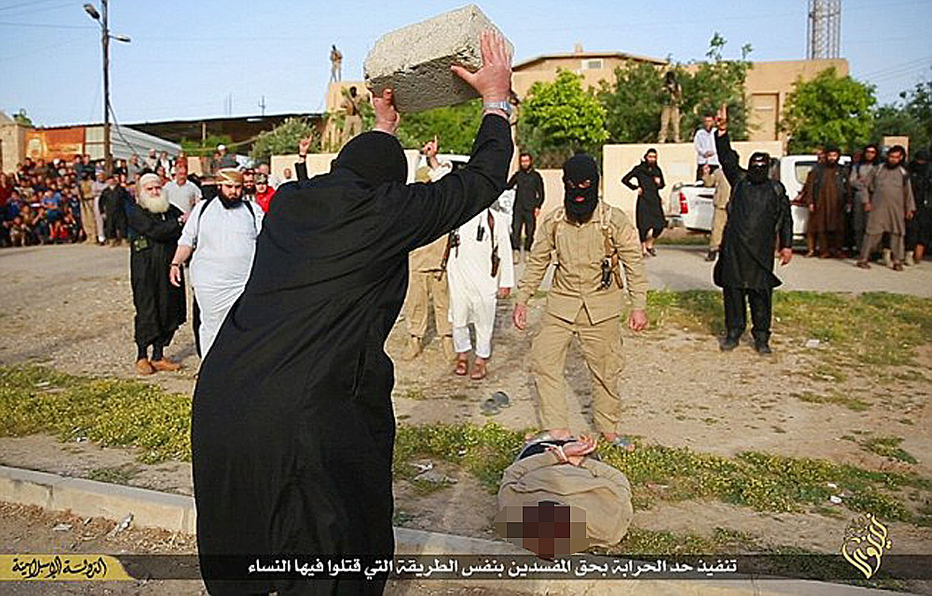 ISIS-Stone-to-death