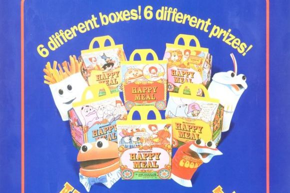 The first Happy Meals arrive in 1979