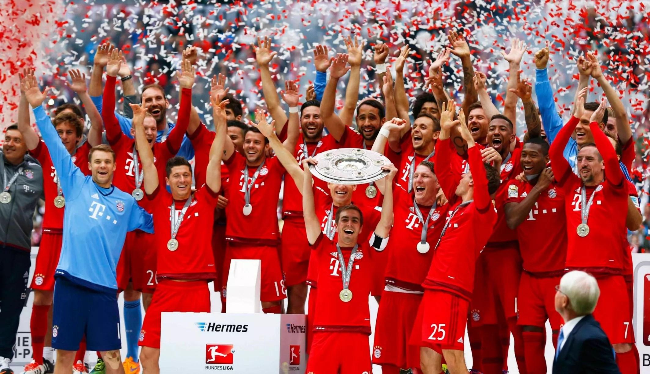 Resultado de imagen de bundesliga champions 2016