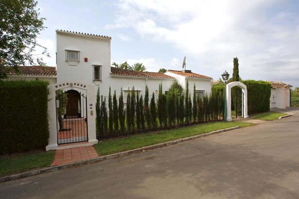 The Villa belonging to Cilla Black near Marbella