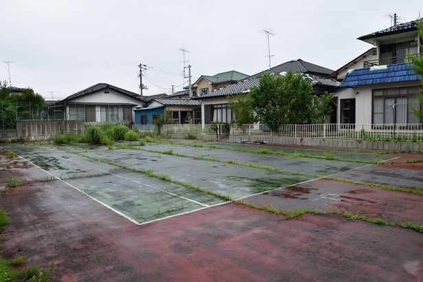 Abandoned village of Tomioka contaminated with radio active fall out from disaster