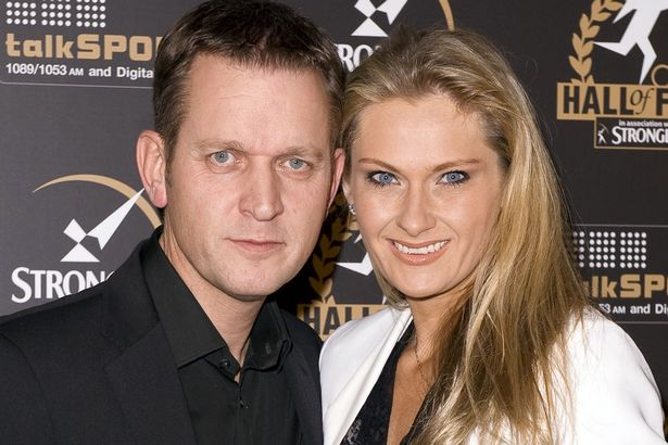 Jeremy Kyle and wife Carla Germaine at the The Talksport Hall of Fame Awards Dinner, London, Britain - 02 Feb 2010