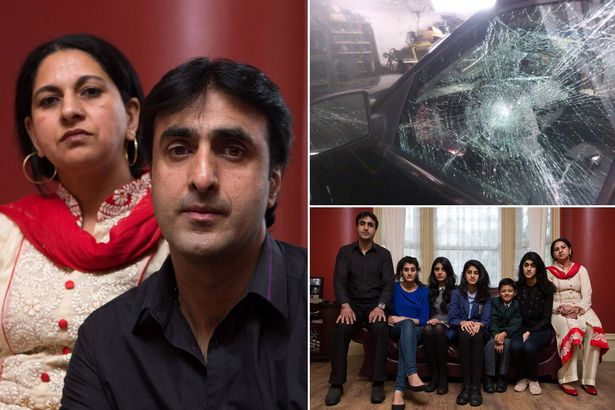 Nissar Hussain and his family have been the victims of repeated hate crimes since his, and his family's, conversion to Christianity