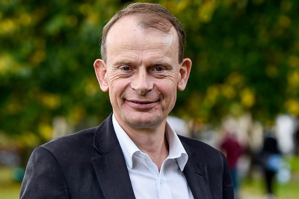 Andrew Marr at the Cheltenham Literature Festival