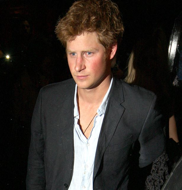 Prince Harry seen leaving Boujis Nightclub in South Kensington