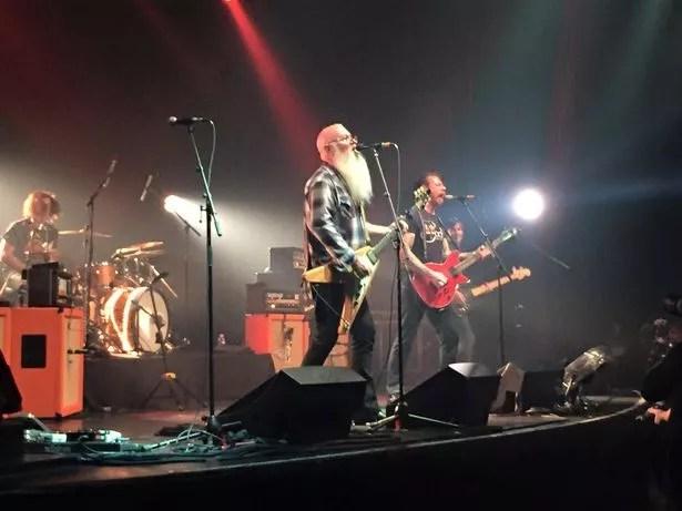 Eagles of Death Metal concert at Bataclan Theatre in Paris before the shootings
