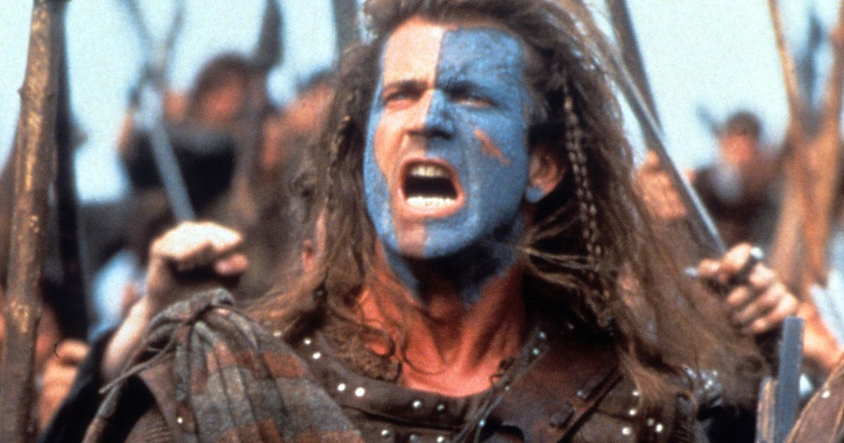 Image result for image for braveheart mel gibson