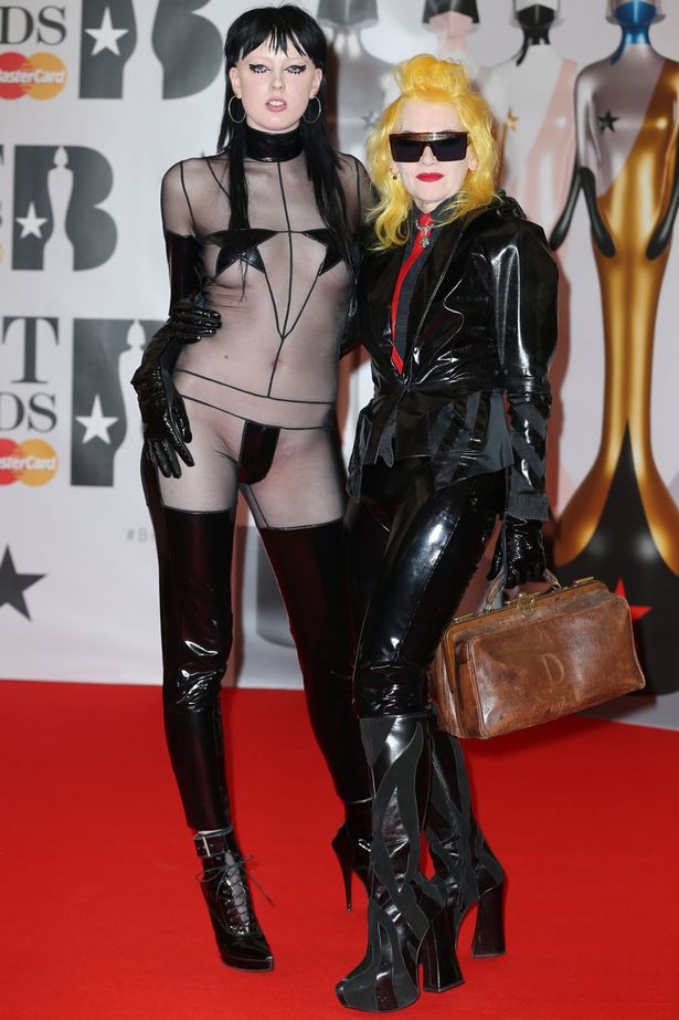 BRIT Awards 2016 - Arrivals Featuring: Pam Hogg Where: London When: 24 Feb 2016 Credit: WENN.com