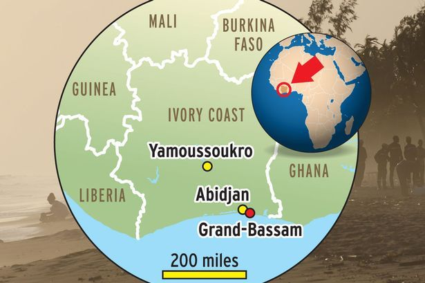 Heavily armed gunmen opened fire at a hotel in the Ivory Coast beach resort of Grand-Bassam