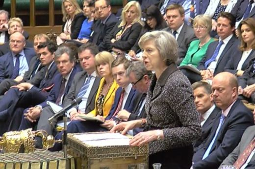 Image result for theresa may house of parliament