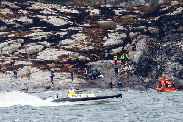 Norwegian helicopter crash: no survivor found