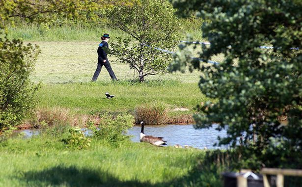 Angler killed in suspected fishing lake fight 'ended up in water'