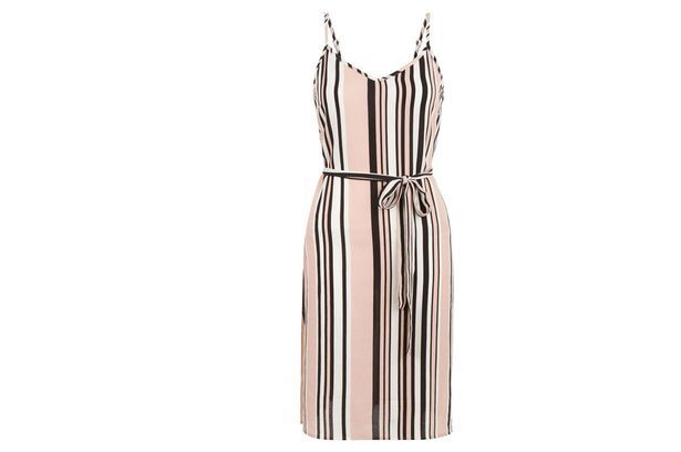 New Look Stripy Slip Dress