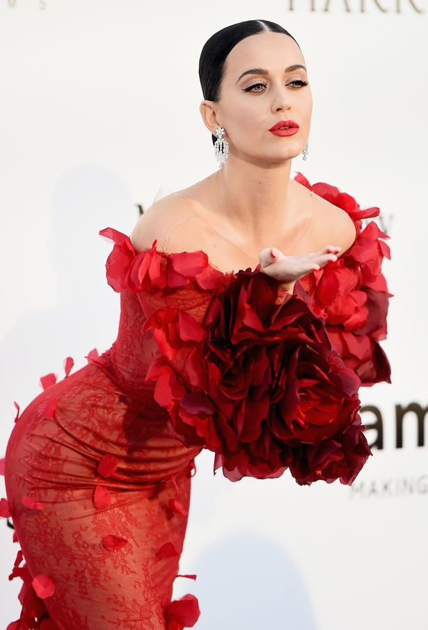 Katy Perry at the amfAR's 23rd Cinema Against AIDS Gala in Cannes, France