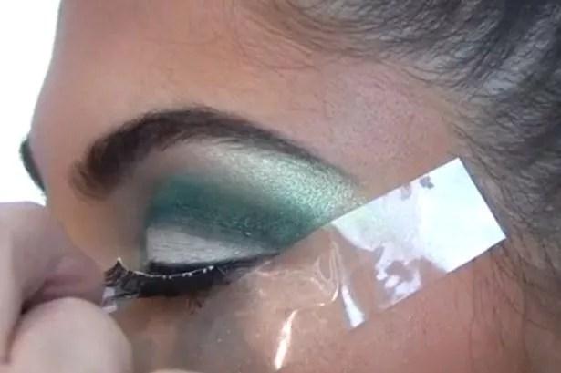 Kardashian eyes step 8
