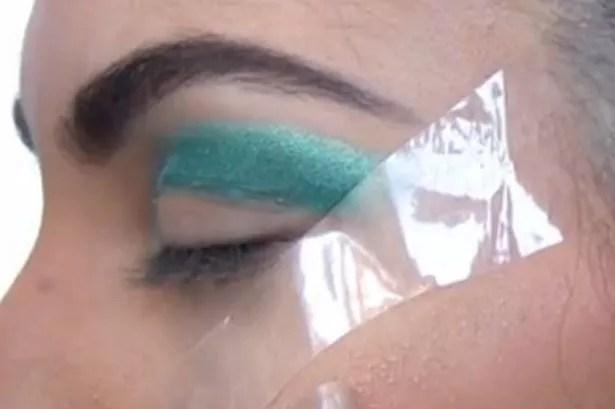 Kardashian eyes step 4