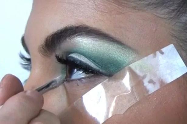 Kardashian Eyes Step 9