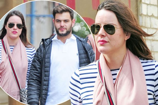Michelle Ryan aka Zoey Slater and Bionic woman was out with her Chris Pine lookalike boyfriend in London