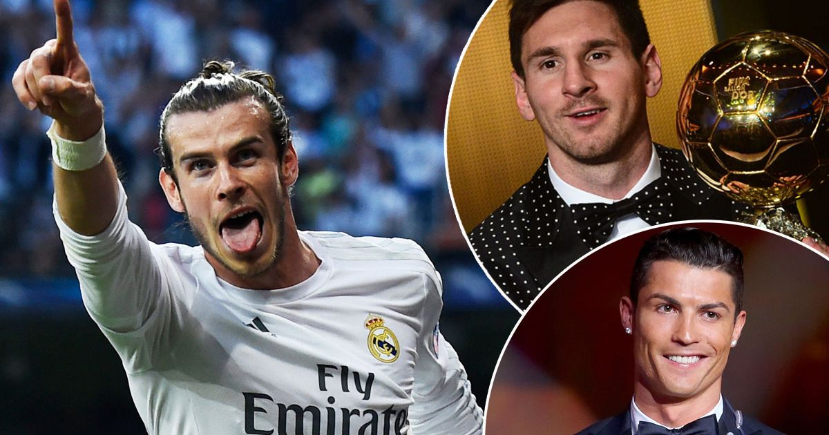 Image result for Gareth Bale and Cristiano Ronaldo nominated for Ballon d'Or as first five names of 30-man shortlist is released