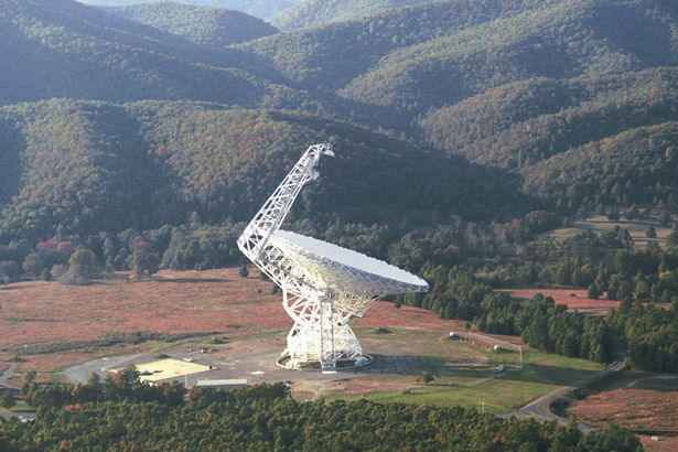 Green Bank radio telescope in West Virginia will be monitoring the star