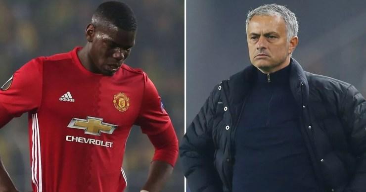 Image result for Mourinho and Pogba