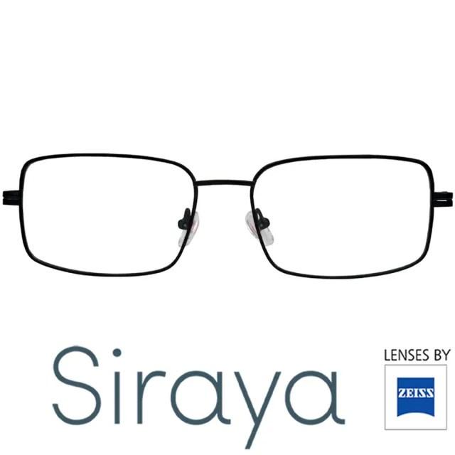 【Siraya】『簡約輕量』Siraya 鈦金屬光學眼鏡 ISER 鏡框
