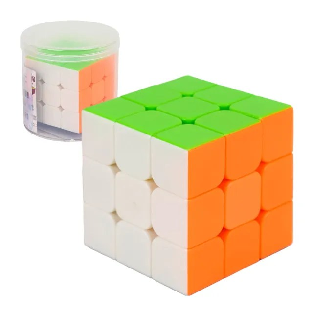 【888ezgo】Magic 筒裝三階比賽專用魔術方塊(六色螢光版)(授權)