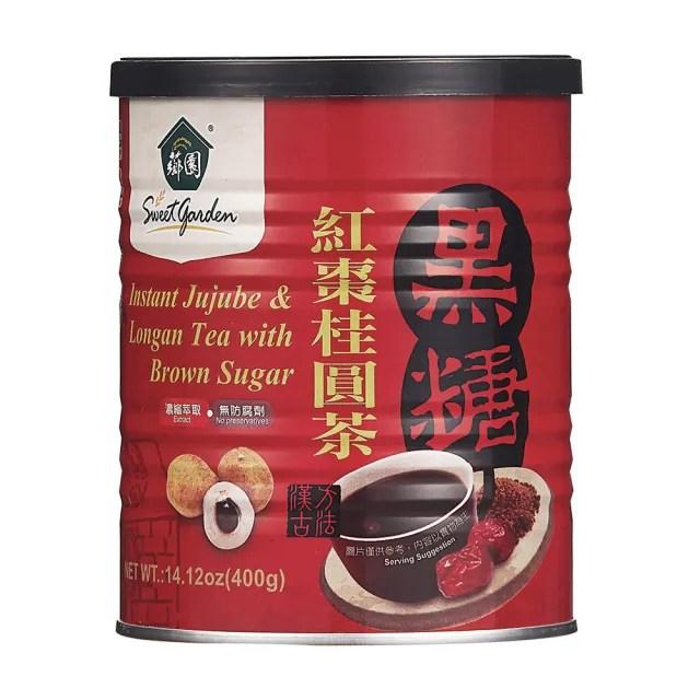 【薌園】黑糖紅棗桂圓茶400g