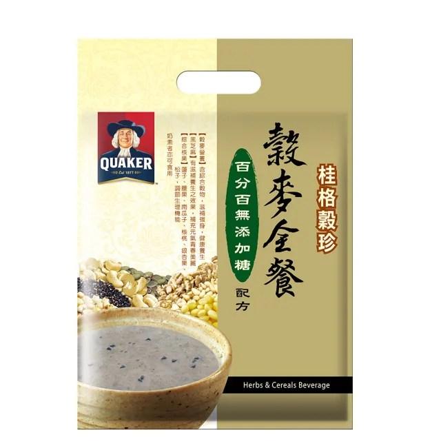 【桂格】穀珍系列-無添加糖穀麥全餐(25g*12入)
