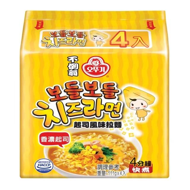【韓國不倒翁OTTOGI】起司拉麵(111g*4)