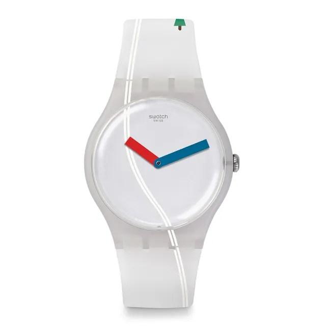 【SWATCH】原創系列手錶 TSCHUSS 再會瑞士(41mm)