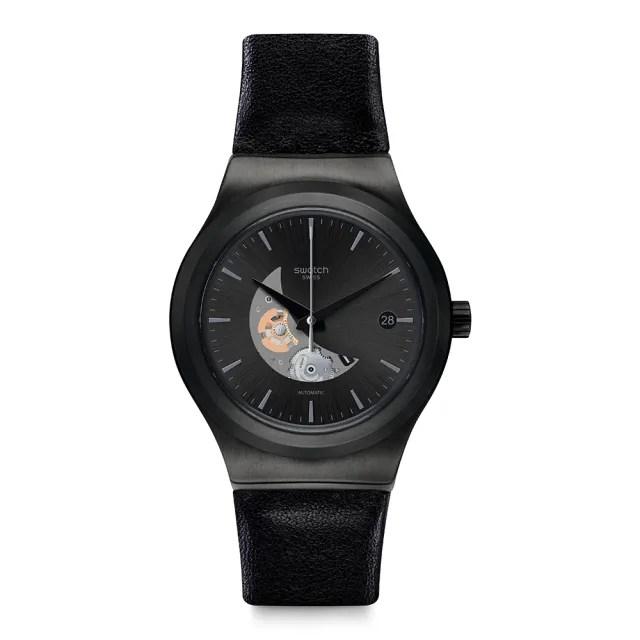 【SWATCH】51號星球 機械錶 SISTEM PILOTE 優游天際(42mm)