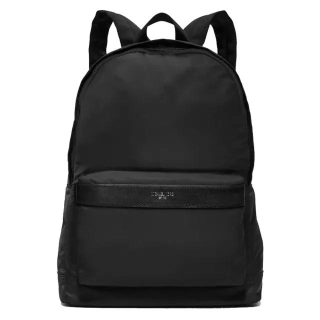 【Michael Kors】專櫃款黑色尼龍後背包