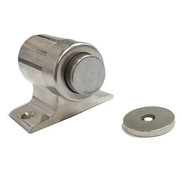 HJ007 2入裝 隱形門吸 不銹鋼門擋 磁石門止 磁性門擋 隱藏門止 戶擋 門檔 門扣(門吸 房間門定位檔)