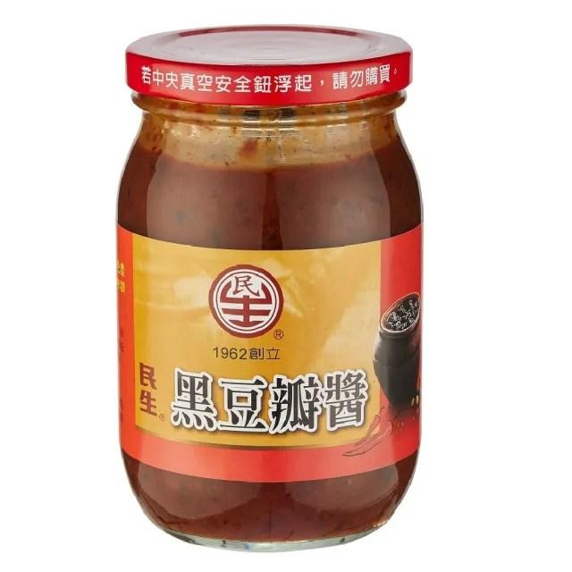 【民生】民生黑豆瓣醬460g(豆瓣醬)