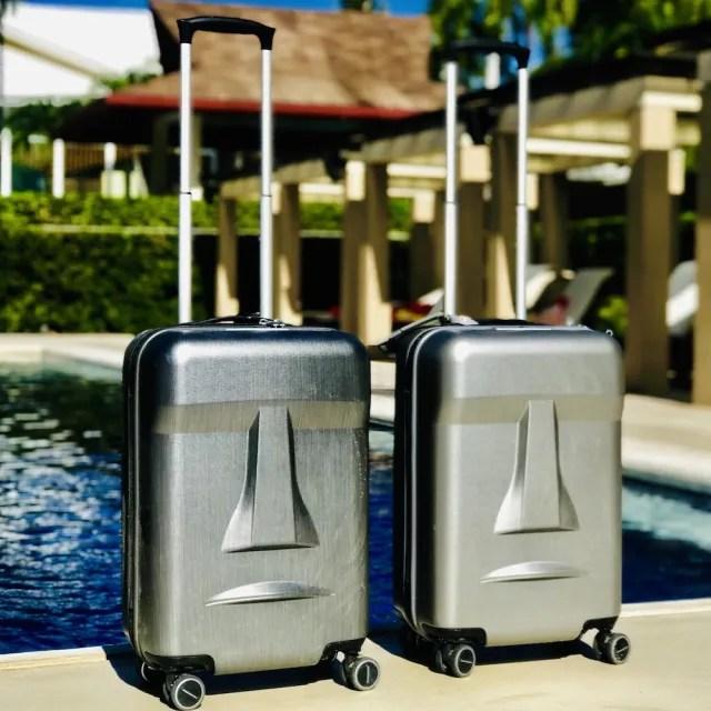 【MERCI Design】摩艾20吋登機旅行箱(登機箱 摩艾 20吋)