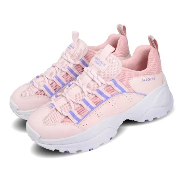 【SKECHERS】休閒鞋 Kozmiks 1.0 老爹鞋 女鞋 厚底 增高 修飾 避震 緩衝 支撐 粉 紫(88888409PKLV)