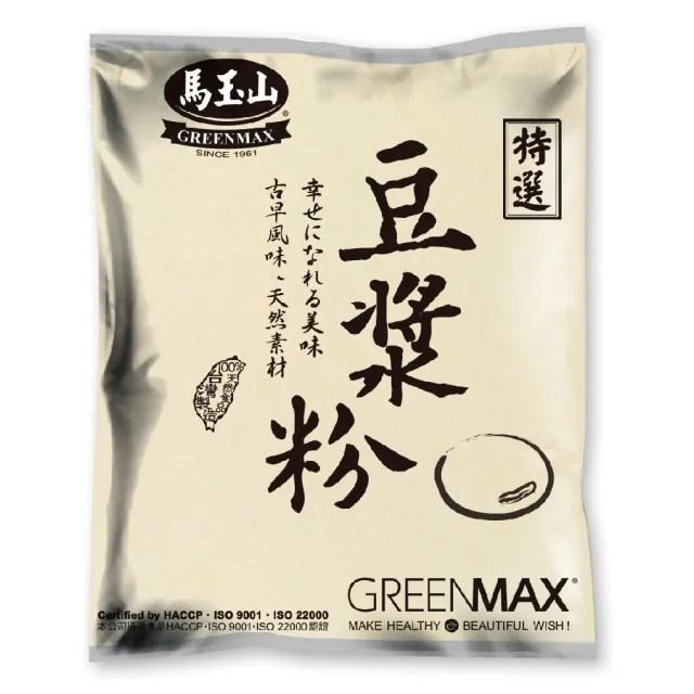 【馬玉山】豆漿粉-此產品為生粉食用前需煮過(1000g/包)